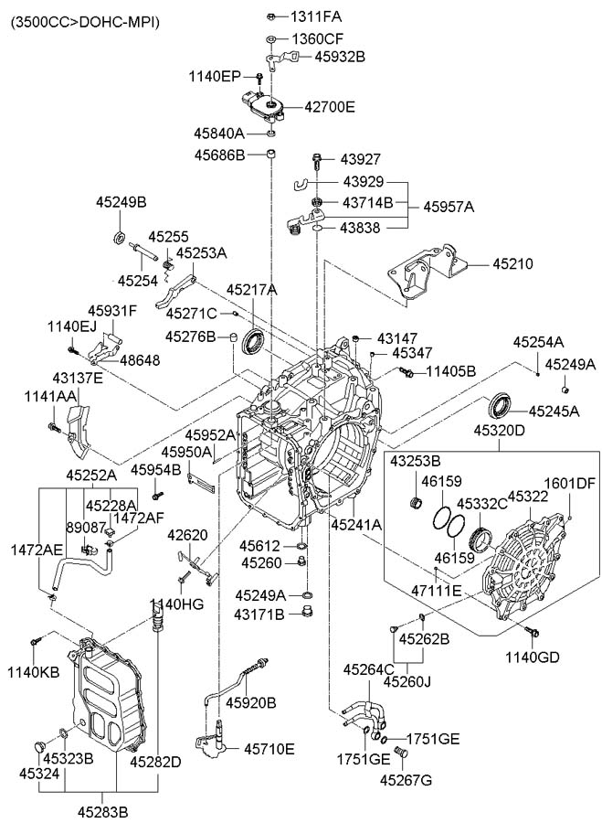 2003 hyundai accent engine diagram
