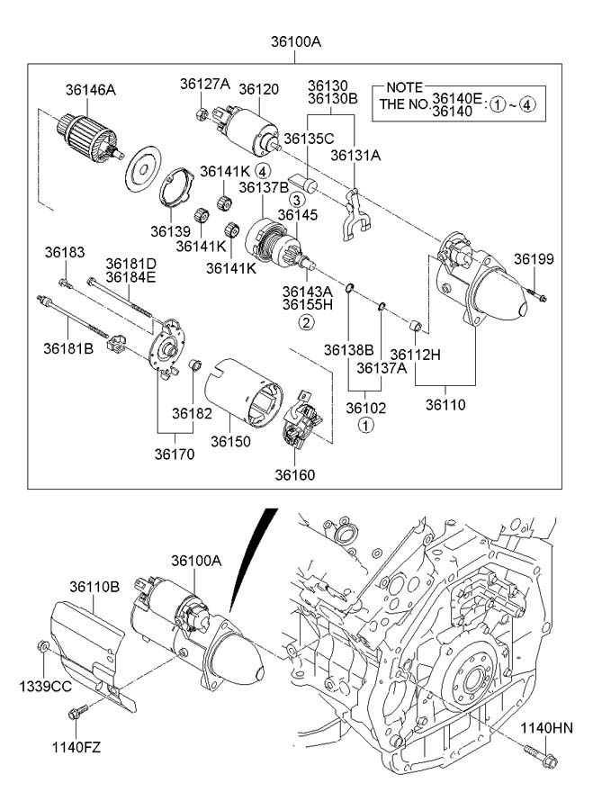 2007 hyundai entourage serpentine diagram