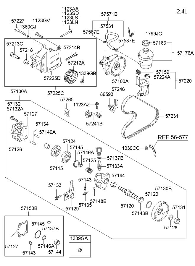 similiar hyundai santa fe power steering diagram keywords fits hyundai santa fe 2000 2001