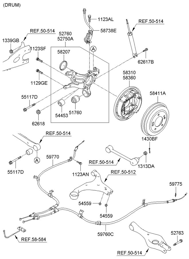hyundai brake pad replacement