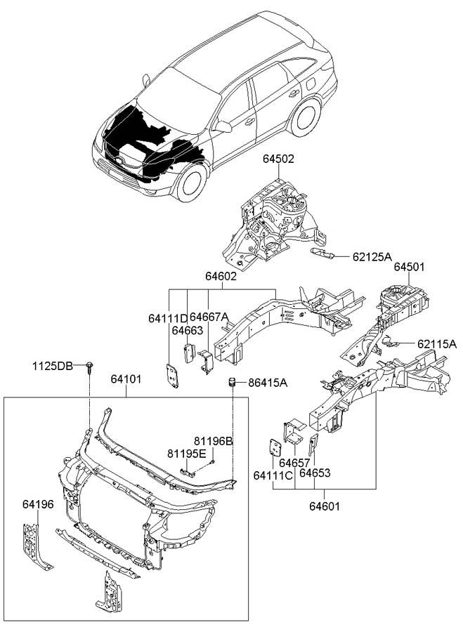 hyundai entourage belt diagram